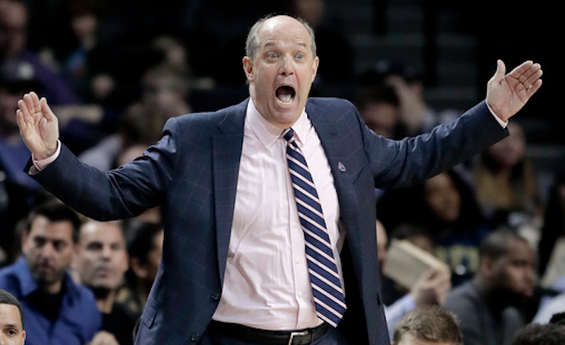 Kevin Stallings gets angry