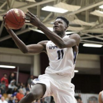 Mohamed Bamba lays it up