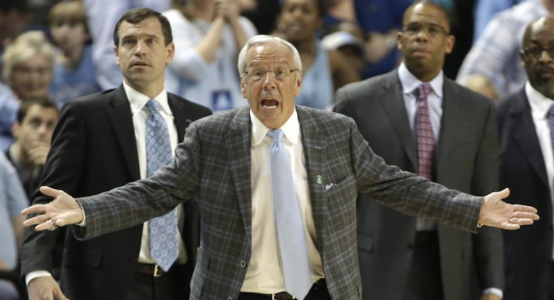 UNC coaches react