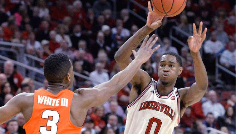Louisville's Mitchell to enter NBA draft, but not hire agent