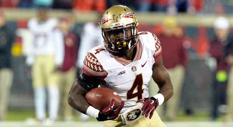 Dalvin Cook runs