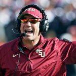 Florida State coach Jimbo Fisher
