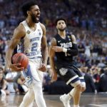 Joel Berry basketball celebrates