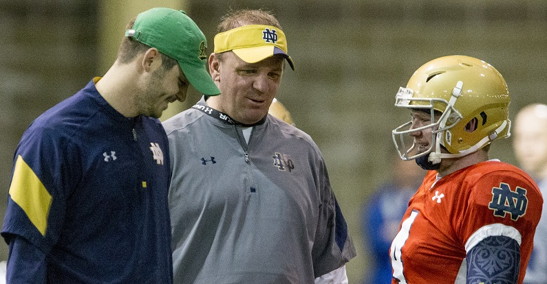 Brian Kelly coaching