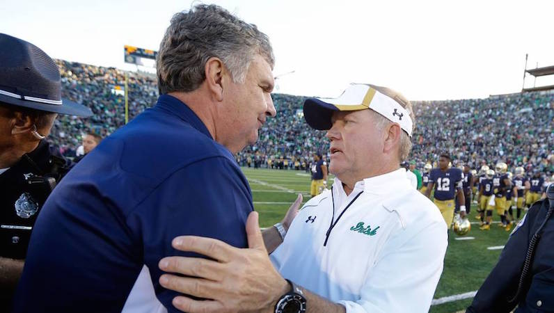 Want to plan ahead? Miami to visit Notre Dame in...2037