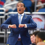 Kevin Keatts coaches NCSU basketball