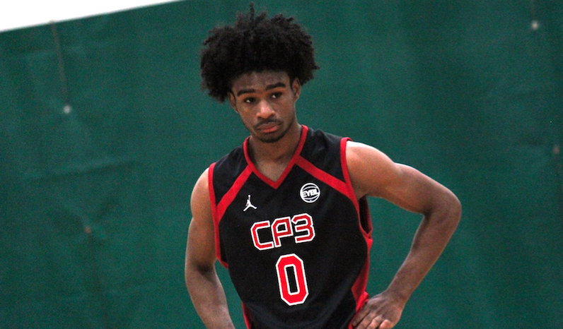 Coby White puts hands on hips