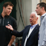 Roy Williams talks to Luke Walton
