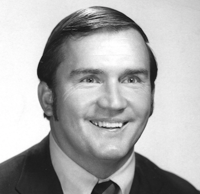 Sonny Randle smiles