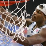 Rashad McCants cuts net