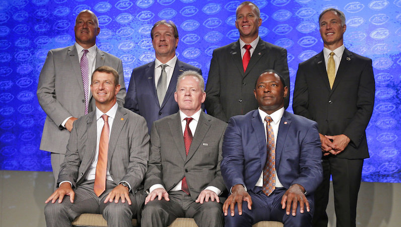ACC football coaches