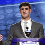 Daniel Jones speaks