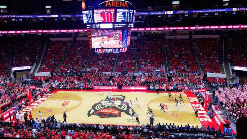 PNC Arena crowded