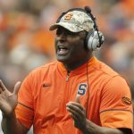 Dino Babers clapping