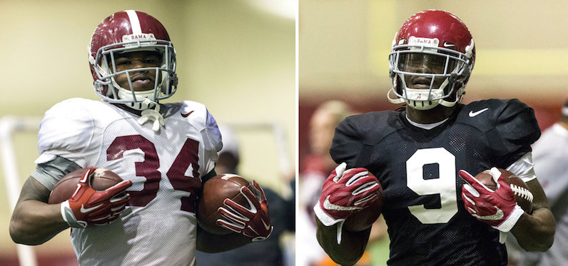 Alabama running backs
