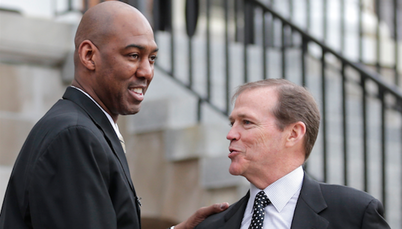 Danny Manning greets