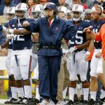 Bronco Mendenhall coaches