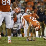 Greg Huegel stretches