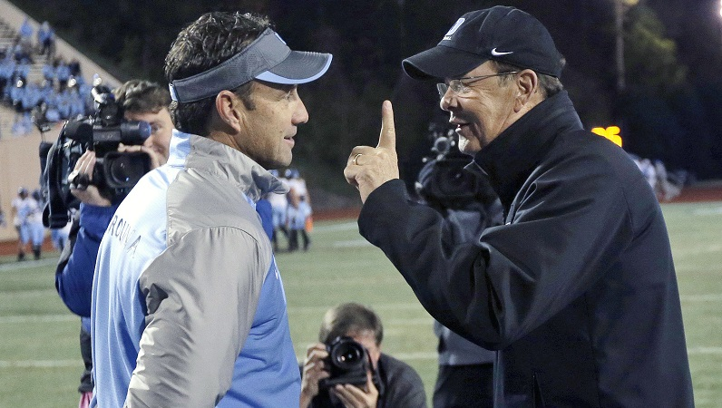 David Cutcliffe talks to Larry Fedora