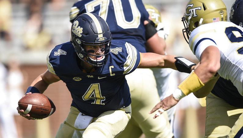 Pitt QB Browne has season-ending shoulder surgery