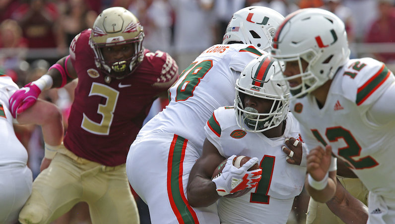 Travis Homer Must Become The Guy For Miami With Mark Walton