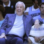 Roy Williams smiling
