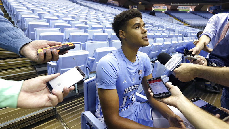 Cameron Johnson speaks