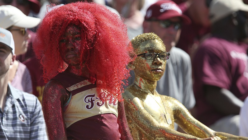 Florida State fans upset