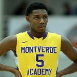 RJ Barrett hands on hips