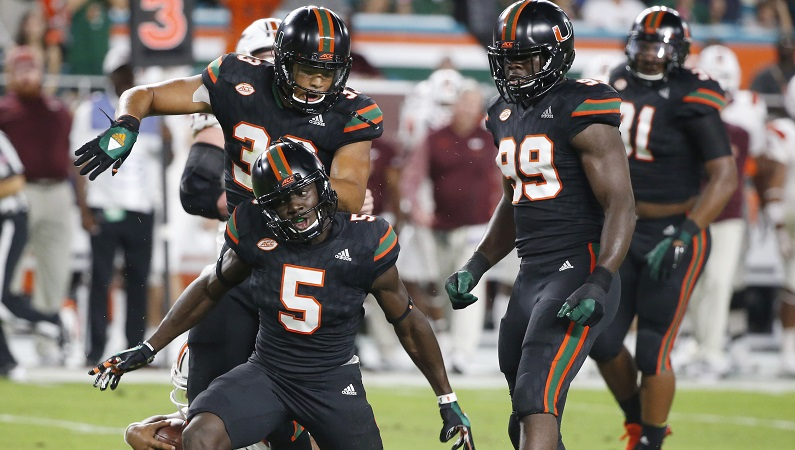 What S On The Line For The Acc With Miami Vs Clemson