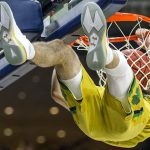 Matt Farrell dunks