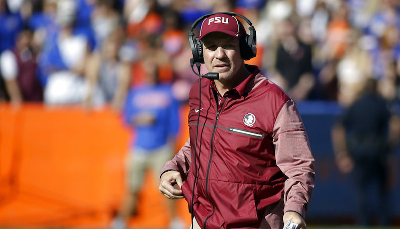 Could Jimbo Fisher be on early morning flight from Tallahassee to Texas?