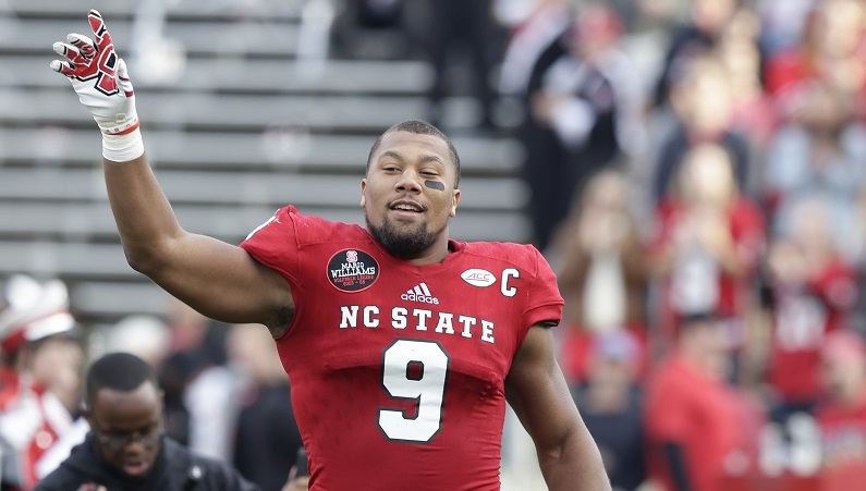 Bradley Chubb walks