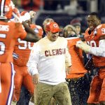Dabo Swinney soaked