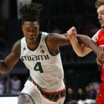 Lonnie Walker drives