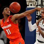 Oshae Brissett defends