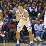 Duke defends