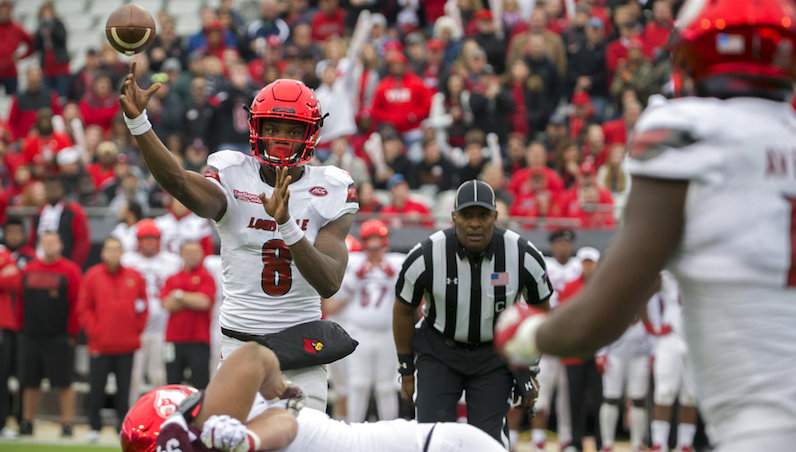 Louisville QB Lamar Jackson declares for National Football League draft