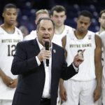 Mike Brey speaks