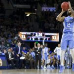 Joel Berry shoots