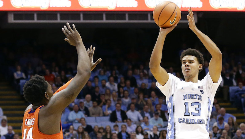 No. 15 North Carolina holds off No. 20 Clemson 87-79