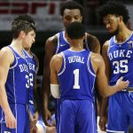 Duke huddles