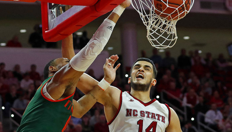 Former NC State center Yurtseven transfers to Georgetown