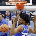Marvin Bagley dunks