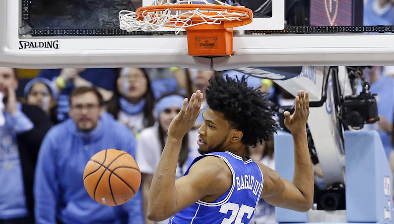 Duke's Marvin Bagley to miss Sunday's game at Georgia Tech