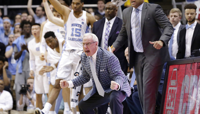 No. 14 Heels pull away late to top Irish