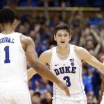 Duke basketball celebrates