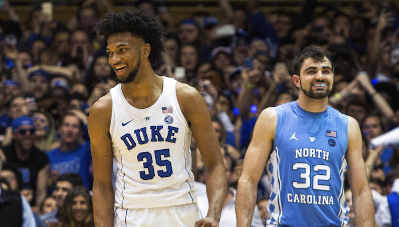 Marvin Bagley smiles