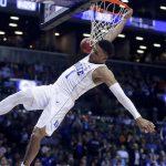 Trevon Duval dunks