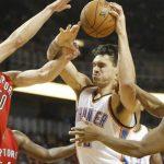 Tyler Hansbrough rebounds